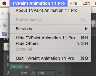 No Preferences access under TVPaint Animation menu.jpg