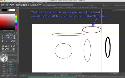 preview of brush is visible with Ellipse tool.jpg
